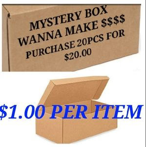 $1.00 an item mystery box 100 boxes available